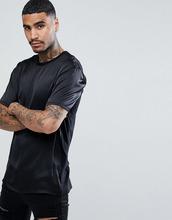ASOS   Длинная черная футболка ASOS - Черный   Clouty