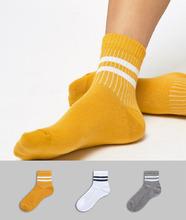 ASOS | 3 пары носков ASOS DESIGN - Мульти | Clouty