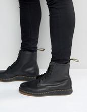 Dr. Martens | Ботинки с 8 парами люверсов Dr Martens Lite Newton - Черный | Clouty