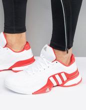 adidas | Кроссовки Adidas Tennis Barricade 2016 Boost AQ2262 - Белый | Clouty