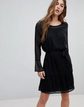 Blend She | Платье из сетчатой ткани Blend She - Черный | Clouty