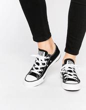 CONVERSE | Черные кроссовки Converse Chuck Taylor All Star Core Ox - Черный | Clouty