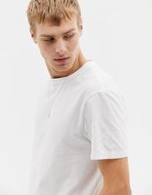 J.Crew Mercantile | Белая выбеленная футболка с круглым вырезом J.Crew Mercantile - Белый | Clouty