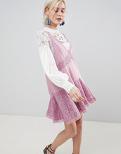 Free People | Платье-трапеция Free People Any Party - Розовый | Clouty