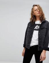 LEE | Джинсовая куртка в стиле 90-х Lee Style Rider - Черный | Clouty