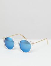 ASOS | Круглые солнцезащитные очки с металлическими дужками и зеркальными сте | Clouty
