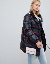 Calvin Klein Jeans   Дутая куртка Calvin Klein Jeans - Черный   Clouty