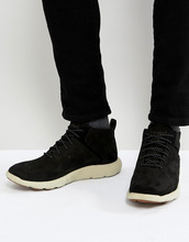 Timberland | Нубуковые кроссовки Timberland Flyroam Super Ox - Черный | Clouty