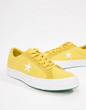 CONVERSE | Желтые кроссовки Converse One Star - Желтый | Clouty