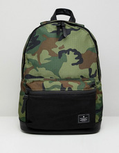 ASOS | Рюкзак цвета хаки с камуфляжным принтом ASOS DESIGN - Зеленый | Clouty