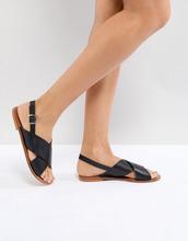 ASOS | Кожаные сандалии ASOS FLICKER - Черный | Clouty
