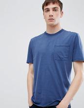 Selected Homme | Футболка с карманом Selected Homme - Темно-синий | Clouty
