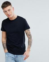 Pull & Bear | Черная футболка из органического хлопка Pull&Bear - Черный | Clouty