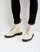 Dr. Martens | Ботинки с 8 парами люверсов Dr Martens Pascal Decon - Кремовый | Clouty