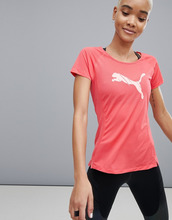 Puma | Красная футболка с короткими рукавами и логотипом Puma Running | Clouty