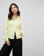 VERO MODA | Блузка в горошек Vero Moda - Желтый | Clouty