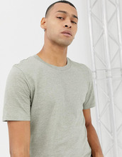 Selected Homme   Меланжевая футболка Selected Homme - Зеленый   Clouty