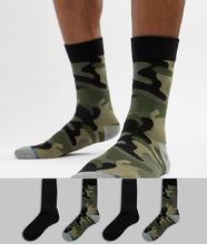 Jack & Jones   4 пары классических носков Jack & Jones - Мульти   Clouty