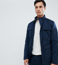 Selected Homme | Куртка с утеплителем Thinsulate и карманом для гаджетов Selected Homme - Темно-синий | Clouty