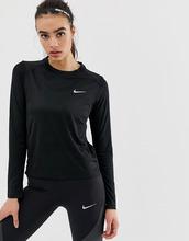 NIKE | Черный лонгслив Nike Running - Черный | Clouty