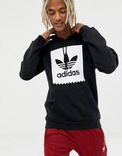 adidas | Худи черного цвета с логотипом adidas Skateboarding cw2358 - Черный | Clouty