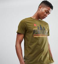 Penfield | Зеленая футболка с логотипом Penfield эксклюзивно на ASOS - Зеленый | Clouty