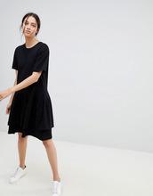 KOWTOW | Ярусное платье мини из органического хлопка Kowtow - Черный | Clouty