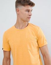Produkt | Удлиненная базовая футболка Produkt - Желтый | Clouty