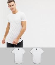 Produkt | Набор из 2 длинных футболок Produkt - Белый | Clouty