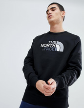 The North Face | Черный свитшот с круглым вырезом The North Face - Черный | Clouty