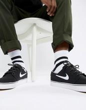 NIKE SB | Черные кроссовки Nike SB Zoom Stefan Janoski Skateboarding 615957-028 - Черный | Clouty