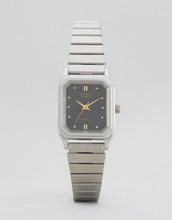 Casio | Часы в винтажном стиле Casio LQ-400D-1AEF - Серебряный | Clouty
