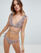 Fashion Union | Трусы бикини с завязками по бокам Fashion Union Bay - Мульти | Clouty