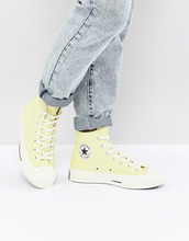 CONVERSE | Желтые высокие кроссовки Converse Chuck Taylor All Star '70 - Желтый | Clouty