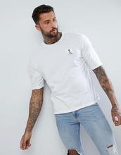 Religion | Белая свободная футболка с состаренной отделкой Religion - Белый | Clouty