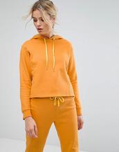 South Beach | Худи горчичного цвета укороченного кроя South Beach - Желтый | Clouty