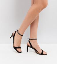 ASOS | Легкие босоножки на каблуке ASOS HALF TIME - Черный | Clouty