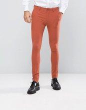 ASOS   Коралловые брюки скинни ASOS - Рыжий   Clouty