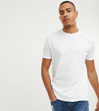 ASOS | Белая свободная футболка ASOS DESIGN Tall - Белый | Clouty