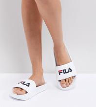 FILA | Белые шлепанцы Fila Drifter - Белый | Clouty