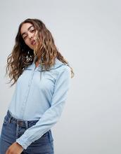 Esprit | Джинсовая рубашка Esprit - Синий | Clouty