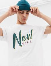 Brooklyn Supply Co. | Футболка из органического хлопка Brooklyn Supply Co New York - Белый | Clouty