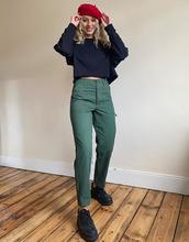 ASOS   Узкие брюки цвета хаки в стиле милитари ASOS DESIGN - Зеленый   Clouty