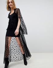 Anna Sui | Платье из прозрачной сетки со звездами Anna Sui - Черный | Clouty