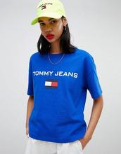 TOMMY Jeans | Футболка с логотипом Tommy Jeans 90s Capsule 5.0 - Синий | Clouty