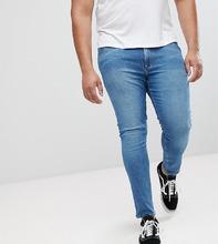 ASOS   Синие джинсы скинни ASOS PLUS - Синий   Clouty