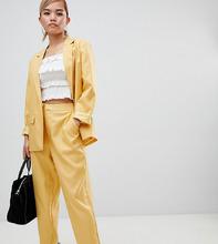 Fashion Union | Брюки-сигареты Fashion Union Petite - Золотой | Clouty