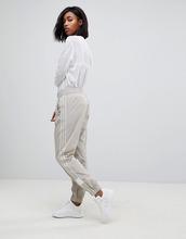 adidas Originals   Бежевые спортивные штаны с манжетами adidas Originals Adibreak   Clouty