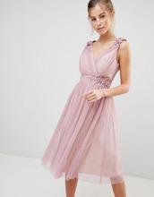 Little Mistress   Платье для выпускного с искусственным жемчугом Little Mistress   Clouty