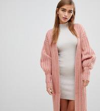 Fashion Union | Свободный кардиган Fashion Union Petite - Розовый | Clouty